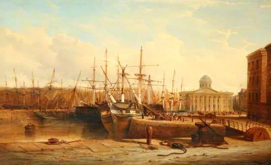 Canning Half-Tide Dock, Liverpool