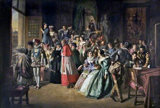 Charles IX and the French Court on the Morning of Saint Bartholomew's Massacre