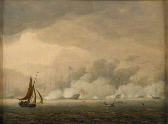 Royal Visit to the Fleet at Spithead, 26 June 1794