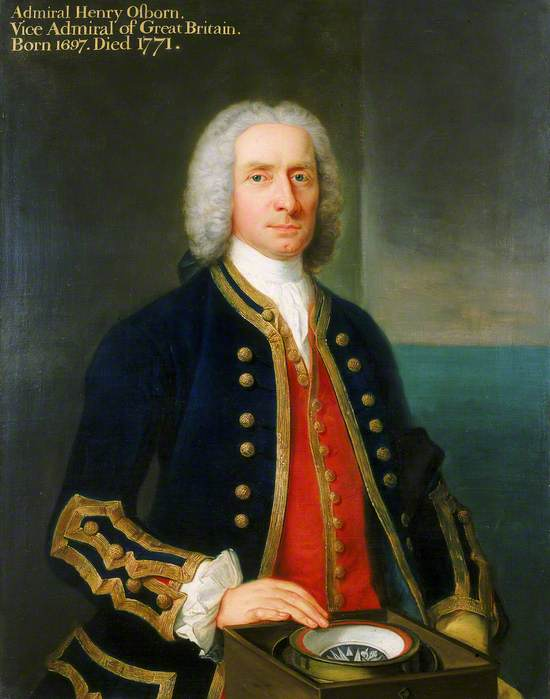 Captain Henry Osborn (1697–1771)