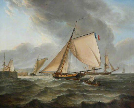 The French Cutter 'La Paix'