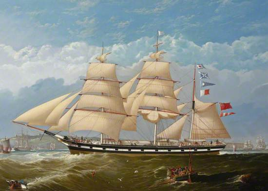 The Barque 'Sarah Watson'