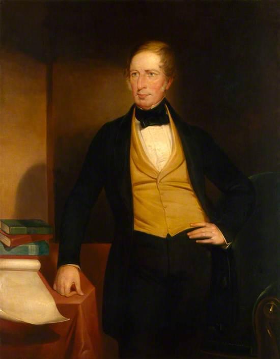 Captain Charles Napier Sturt (1795–1869)