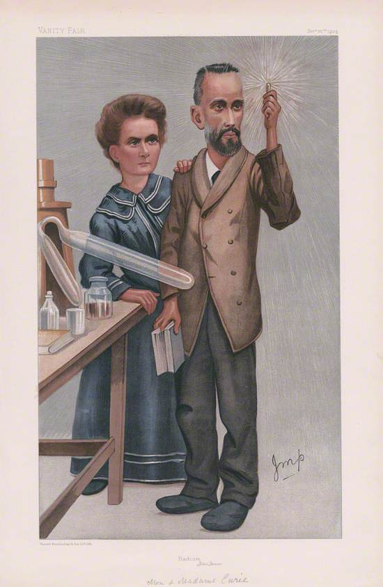 Marie Curie and Pierre Curie (People of the Day No. 1 'Radium – Jehu Junior')