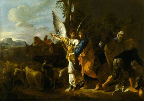 The Departure of Jacob (Tobias and the Angel) (?)