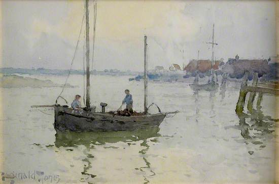 Boat in a Harbour