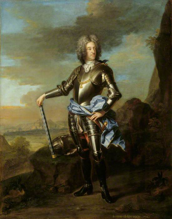 The Elector Max Emanuel of Bavaria (1662–1726), as Governor of the Spanish Netherlands