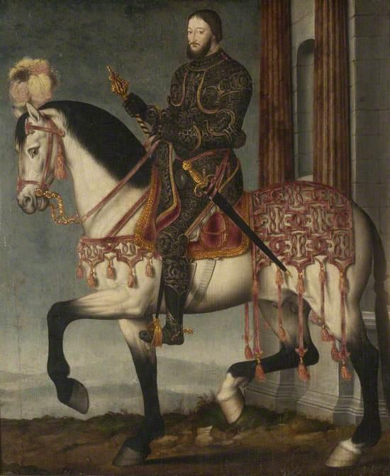 François I of France (1494–1547), on Horseback