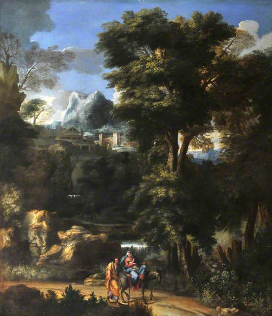 A Landscape with the Flight into Egypt