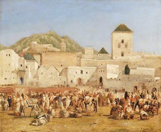 The Market of Tetuan