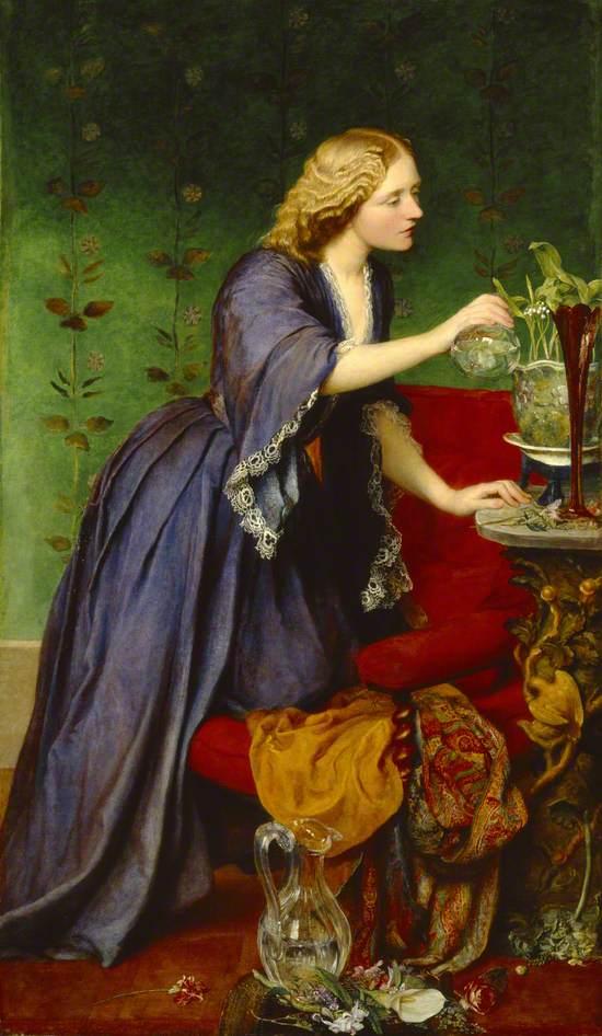 Jane 'Jeanie' Elizabeth Hughes (1828–1877), Mrs Nassau John Senior
