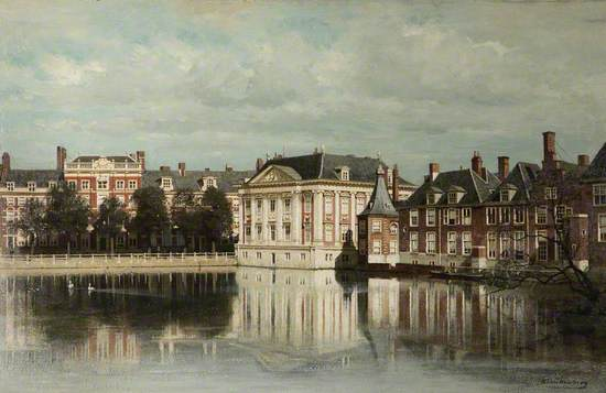 View of The Hague (The Mauritshuis and Part of the Binnenhof)