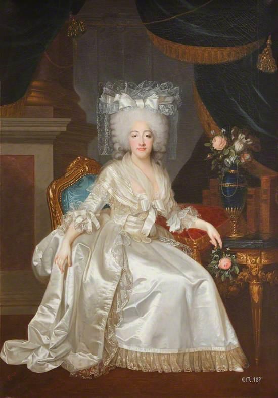 Marie-Joséphine-Louise de Savoie (1753–1810), comtesse de Provence, Later Queen of France