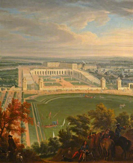 Versailles from the Heights of Satory