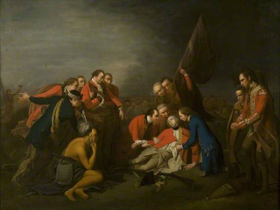 The Death of Wolfe