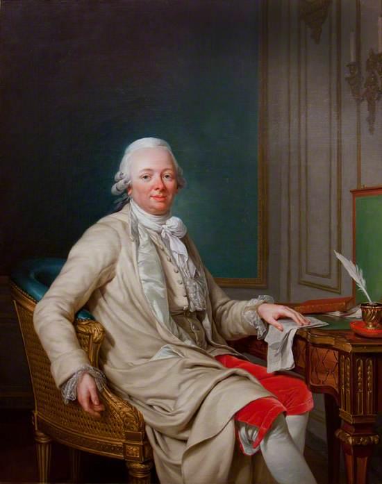 Etienne-François (1719–1785), duc de Choiseul-Stainville, at His Desk
