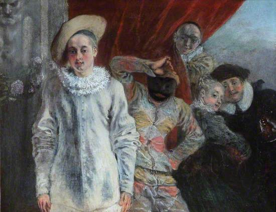 Pierrot, Harlequin and Scapin