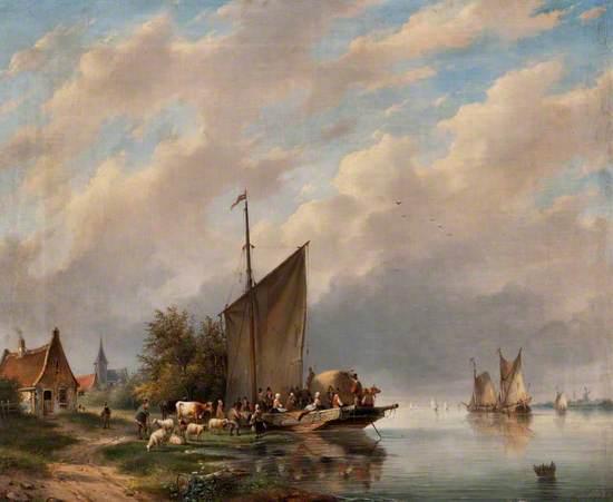 A Dutch River Scene