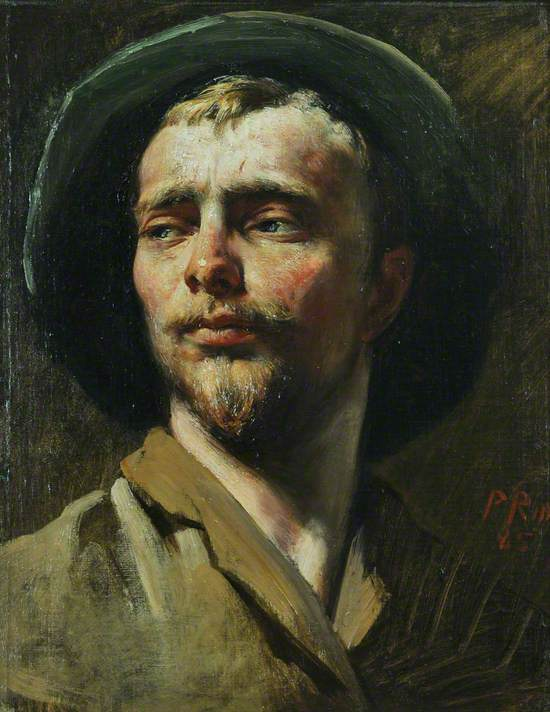 Dutch Head, 'The Artist Painted by Himself'