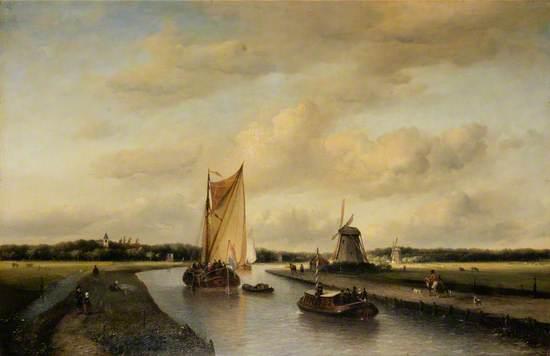 A Canal near The Hague