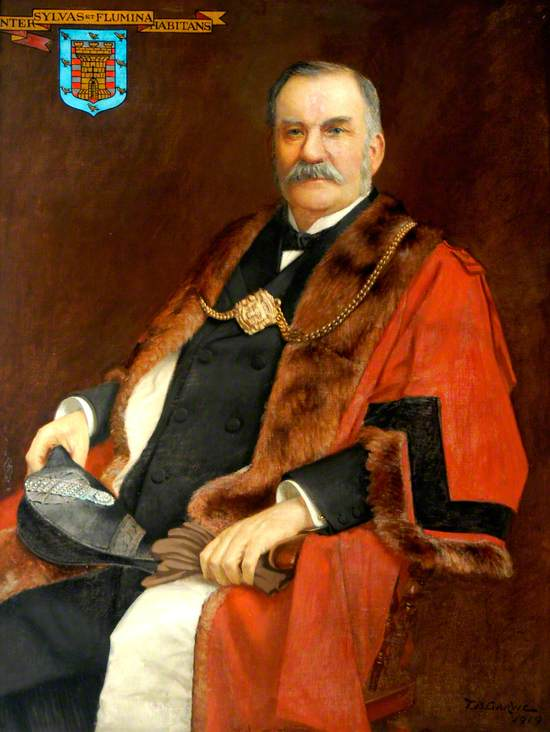 George Young, Member of Morpeth Borough Council (1884–1915), Elected Alderman (1899), Mayor (1887 & 1901)