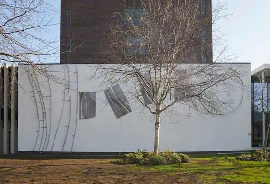 Aluminium Steel Mural