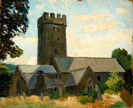 St Florence Church near Tenby