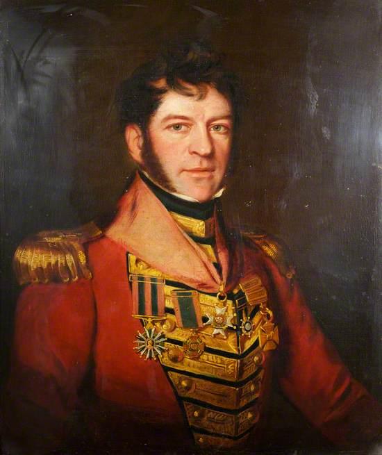 Major-General Sir Edmund Keynton Williams (1778–1850), KCB, KTS, Commanding 41st Foot (1827–1837)