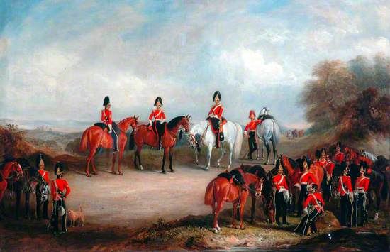 The 4th Royal Irish Dragoon Guards