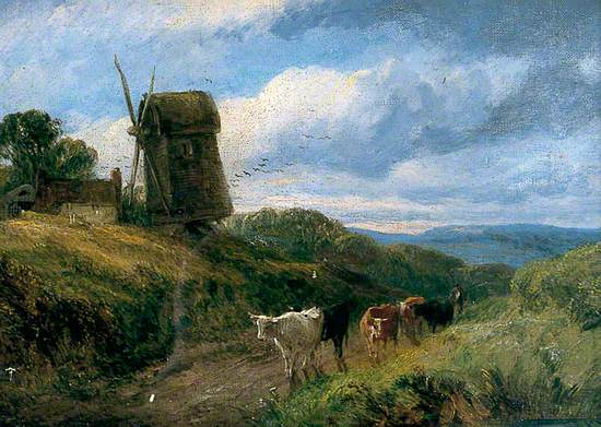 Landscape with an Old Mill