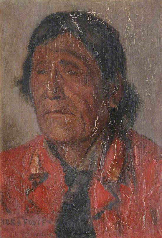 Red Crow, Blood Indian Chief