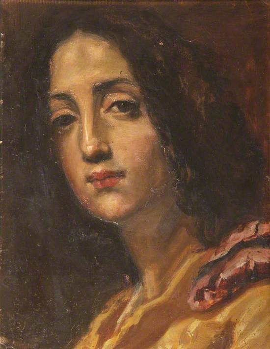 Portrait of a Young (Spanish?) Woman