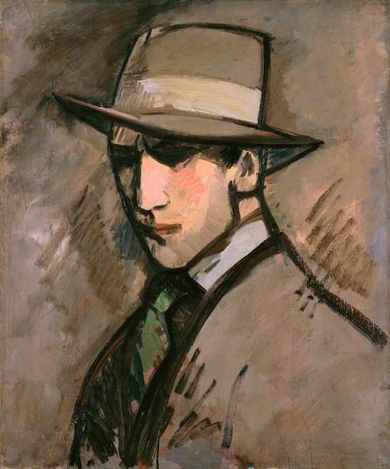 Self Portrait: The Grey Hat
