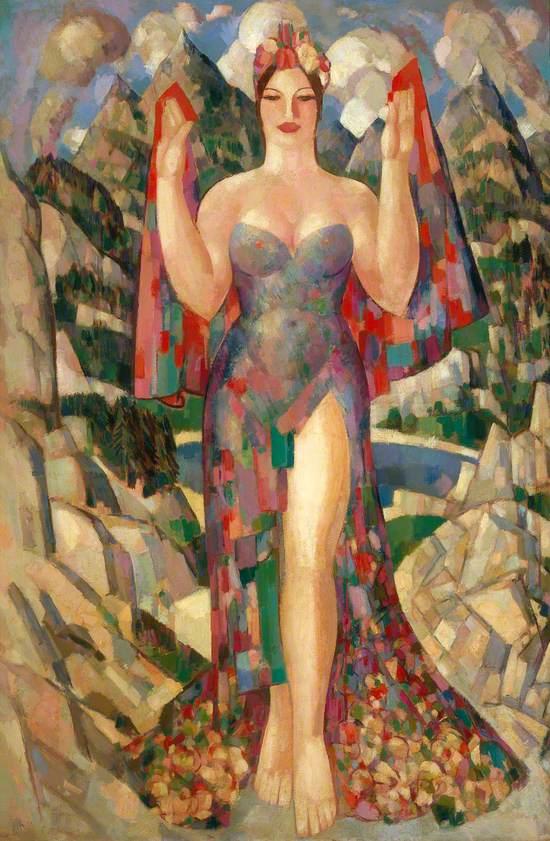 Danu, Mother of the Gods (Margaret Morris, 1891–1980)