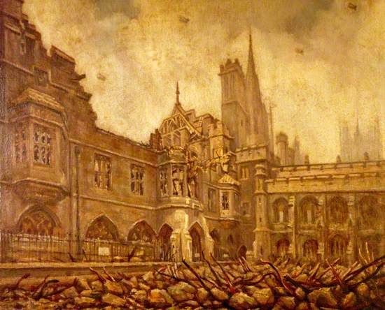Houses of Parliament, The Debating Chamber from Star Chamber Court