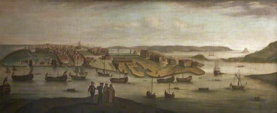 View of Plymouth Dock