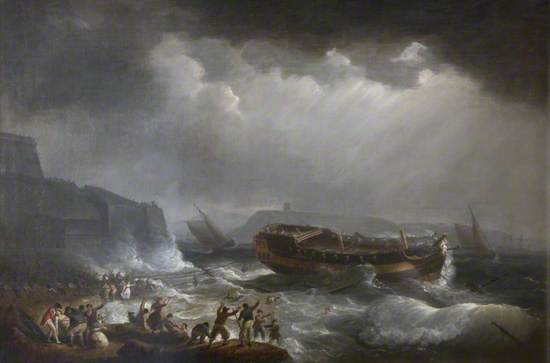 East Indiaman 'Dutton' Wrecked in Plymouth Sound