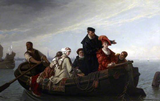 Spaniards Leaving the Netherlands