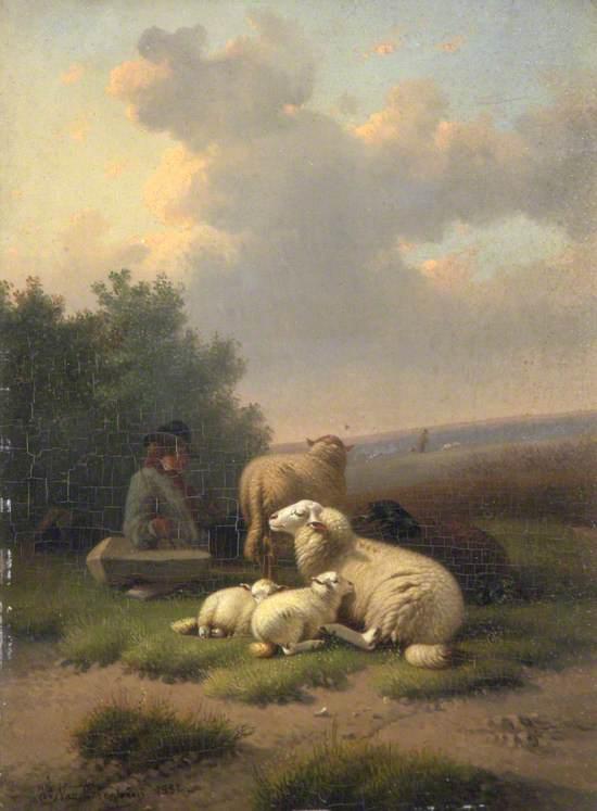 Sheep with a Shepherd