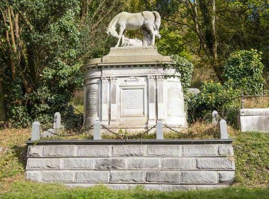 Monument to John Frederick Ginnett