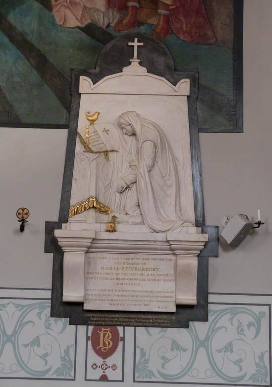 Monument to Mrs Fitzherbert