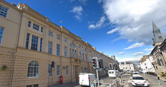 Cupar County Buildings