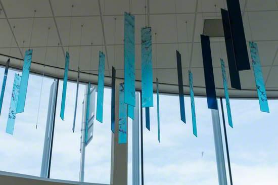 Glass Sculptural Installation