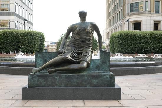 Draped Seated Woman