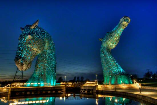 'The Kelpies': ancient myth in modern art