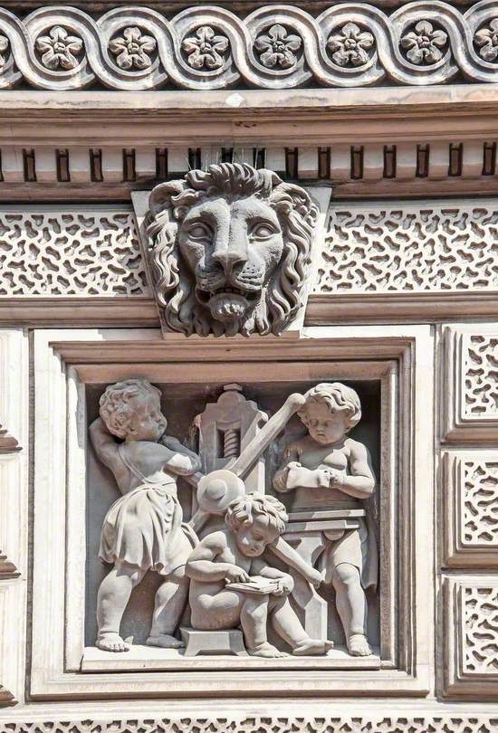Narrative and Allegorical Reliefs of Children and Associated Decorative Carving