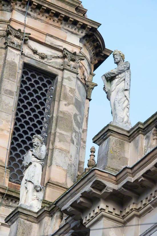 Barony North Church Sculptures