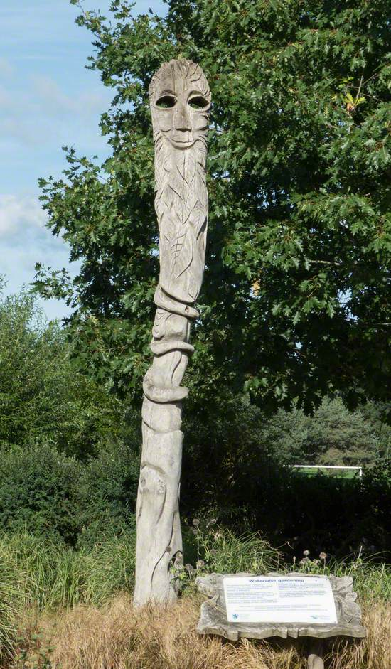 Sculpted Pole