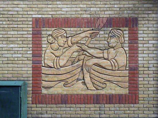 Two Rivers: Brick Carving