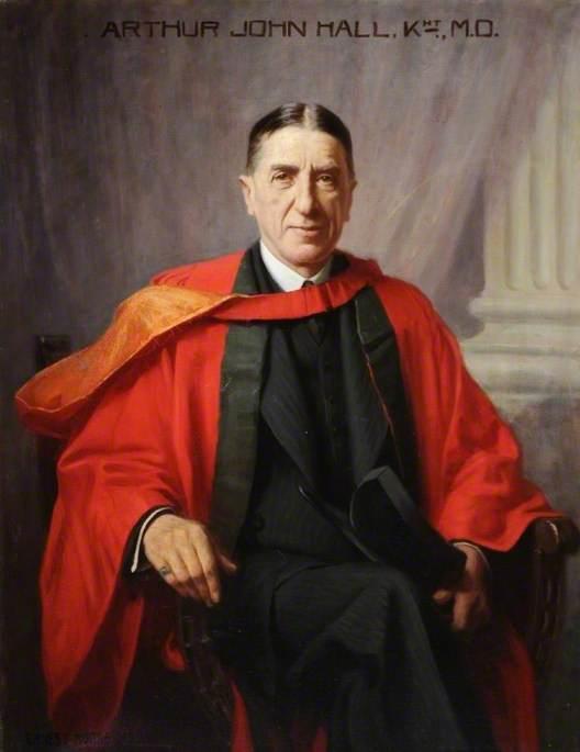Sir Arthur Hall (1866–1951), KT, MD